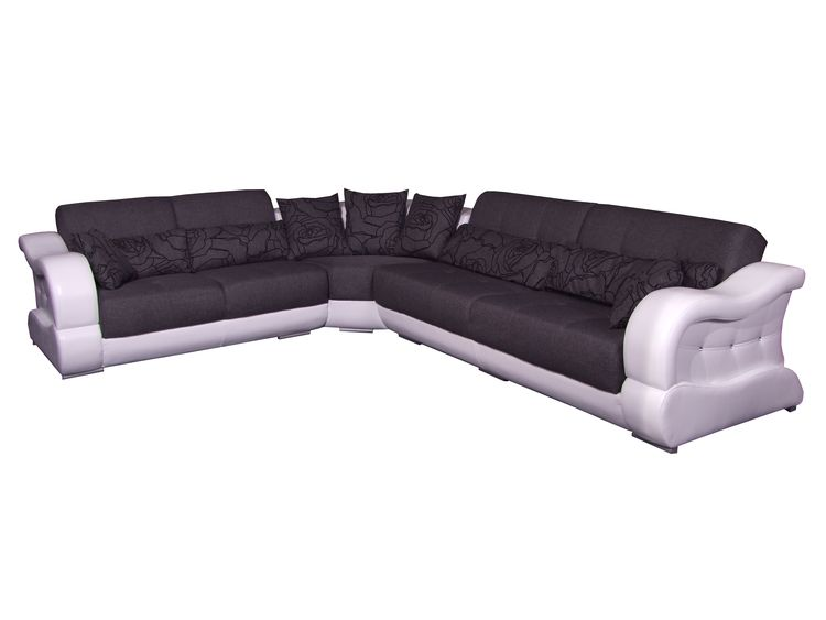 ecksofa montana ii mit bettfunktion livingcomfort. Black Bedroom Furniture Sets. Home Design Ideas