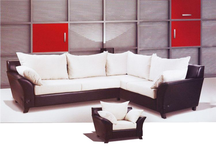 ecksofa mit sessel star livingcomfort. Black Bedroom Furniture Sets. Home Design Ideas
