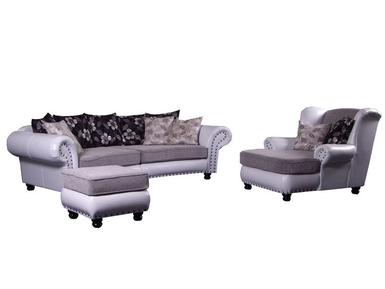 Big sofa hawana big sessel hocker livingcomfort Big sofa hocker