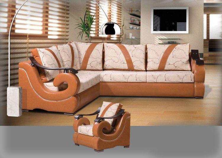ecksofa mit sessel livingcomfort. Black Bedroom Furniture Sets. Home Design Ideas