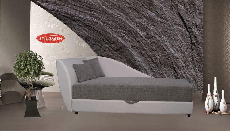recamiere amore mit bettkasten livingcomfort. Black Bedroom Furniture Sets. Home Design Ideas
