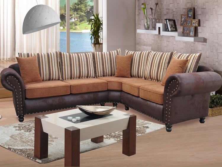 ecksofa dona 2 im kolonialstil livingcomfort. Black Bedroom Furniture Sets. Home Design Ideas