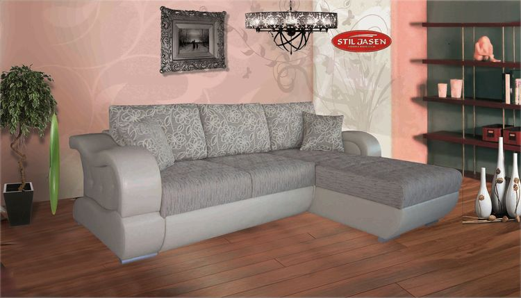 Ecksofa Montana mit Bettfunktion