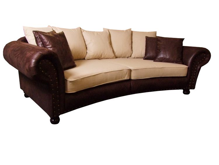 Luxus Big-Sofa Hawana rund