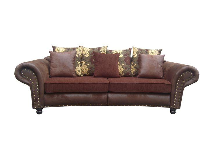 Big-Sofa Hawana-Mini im Kolonialstil