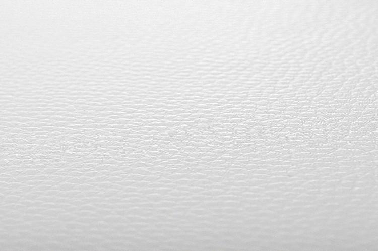 Textilleder Nr.11 weiß-glänzend