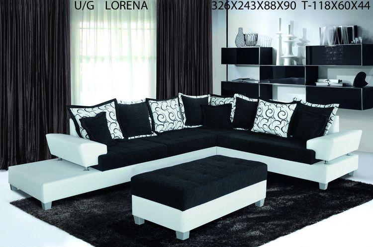 Lorena I Ecksofa Mit Hocker Os Livingcomfort